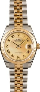 Pre-Owned Rolex Datejust 178273 Champagne MOP