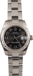 Rolex Datejust 178274 Black Concentric Dial