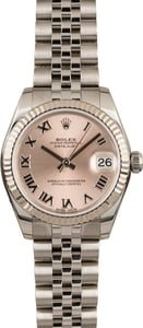 Rolex Mid-Size Datejust 178274 Pink Roman Dial