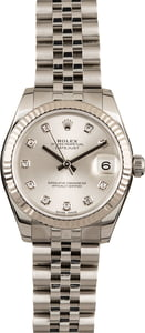 Pre-Owned Rolex Datejust 178274 Diamond Dial