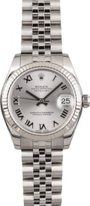 Pre Owned Rolex Datejust 178274 Silver Roman Dial