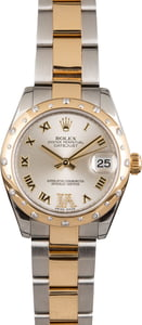 Pre Owned Rolex Datejust 178343 Diamond Bezel