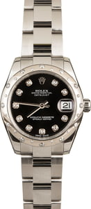 Used Rolex 178344 Datejust 31MM Diamond Dial and Bezel