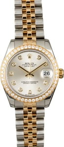 Rolex Datejust 178383 Mid-Size with Diamonds