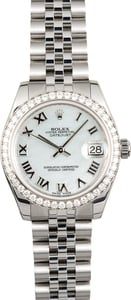 Rolex Datejust 178384 Diamond Bezel