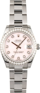Rolex Datejust 31 Diamonds 178384