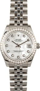 Rolex Datejust 178384 Diamond Mid-size