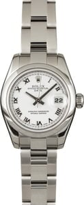 Pre Owned Rolex Lady-Datejust 179160 Stainless Steel