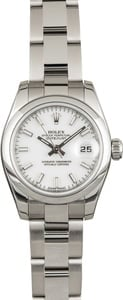 Rolex Datejust 179160 White Luminous Index Dial