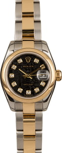 Used Rolex Datejust 179163 Black Jubilee Diamond Dial