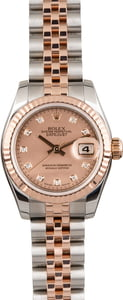 Pre Owned Rolex Datejust 179171 Pink Diamond Dial