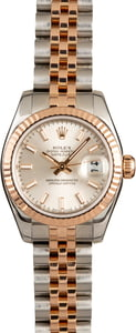 Rolex Lady-Datejust 179171 Everose 100% Authentic
