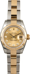 Used Rolex Datejust 179173 Diamond Dial