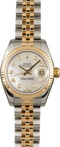 Rolex Datejust 179173 Mother of Pearl Diamond Dial