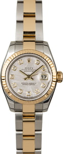 Rolex Datejust 179173 Meteorite Diamond Dial