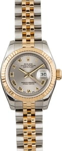 Pre Owned Rolex Datejust 179173 Rhodium Roman Dial