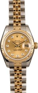 Pre Owned Rolex Ladies Datejust 179173 Diamond Dial