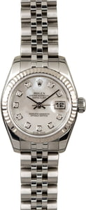 Used Rolex Datejust 179174 MOP Diamond Dial
