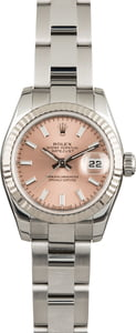 Rolex Datejust 179174 Pink Luminous Index Dial
