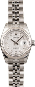 Used Rolex Lady Datejust 179174 Silver Jubilee Diamond Dial