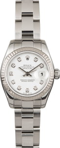 Pre Owned Ladies Rolex Datejust 179174