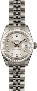 PreOwned Rolex Datejust 179384 Diamond Dial