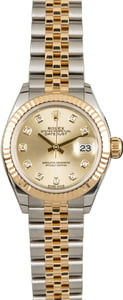 Used Rolex Datejust 279173 Diamond Dial