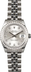 Rolex Datejust 31MM Diamond 178384