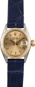 Pre Owned Vintage Rolex Datejust 6517 Leather Strap