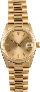 Pre Owned Rolex Datejust 6827 Mid-Size