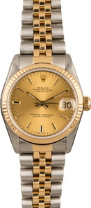 Ladies Rolex Datejust Midsize Watch 68273