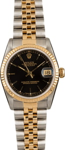 Pre-Owned Rolex Datejust 68273 Black Dial