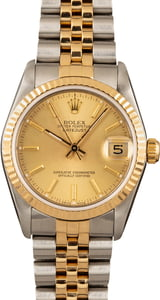 Rolex Mid-Size Datejust 68273 Two-Tone