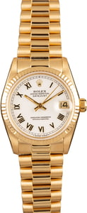 Rolex Datejust 68278 Yellow Gold 31mm