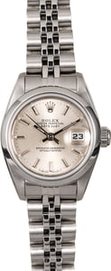 Rolex Lady Datejust 69160 Silver Dial