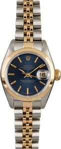 Rolex Lady Datejust 69163 Two Tone Jubilee