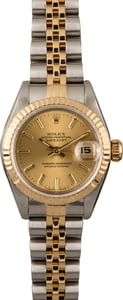 Rolex Datejust 69173 Two Tone Jubilee Ladies Watch