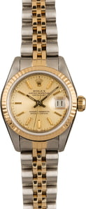 Ladies Rolex Datejust 69173 Two Tone Jubilee