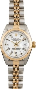 Pre Owned Ladies Rolex Datejust 69173 Two-Tone