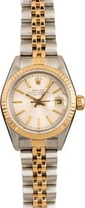 Ladies Rolex Datejust 69173 Silver Dial