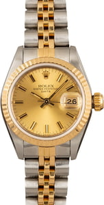 Pre-Owned Rolex Datejust 69173 Ladies