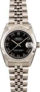 Rolex 31MM Datejust 78240 White Roman Dial