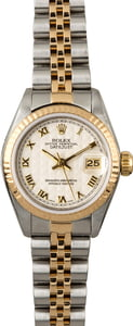 Rolex Datejust 79163 Ivory Pyramid Dial