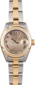 Rolex Datejust 79163 Black Mother Of Pearl Dial