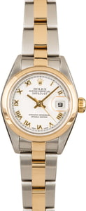 Ladies Rolex Datejust 79163 100% Authentic