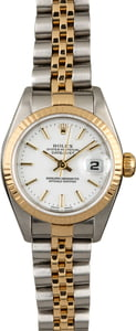 Rolex Datejust 79173 White Index Dial