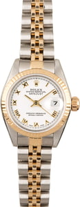 PreOwned Rolex Datejust 79173 White DIal