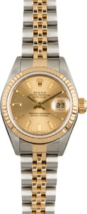 Used Rolex Datejust 79173 Champagne Index Dial
