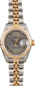 Pre Owned Rolex Datejust 79173 Rhodium Dial
