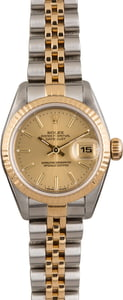 Pre Owned Rolex Datejust 79173 Light Champagne Dial